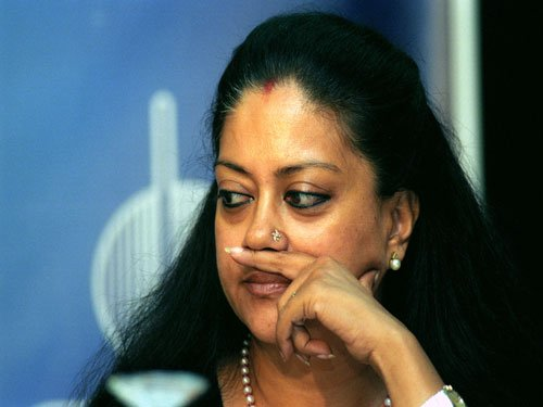 Cong alleges quid pro quo between Raje and Lalit in MoU