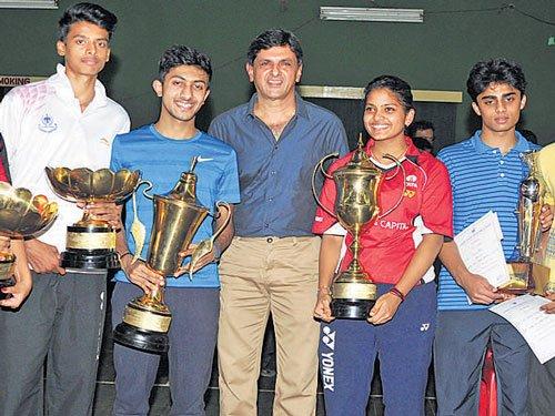 Sahil, Mahima clinch titles on final day