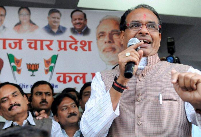 After Raje, Congress trains guns on Shivraj Chouhan