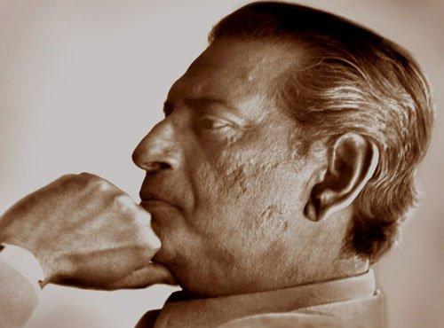 Satyajit Ray's portrait at UN exhibition