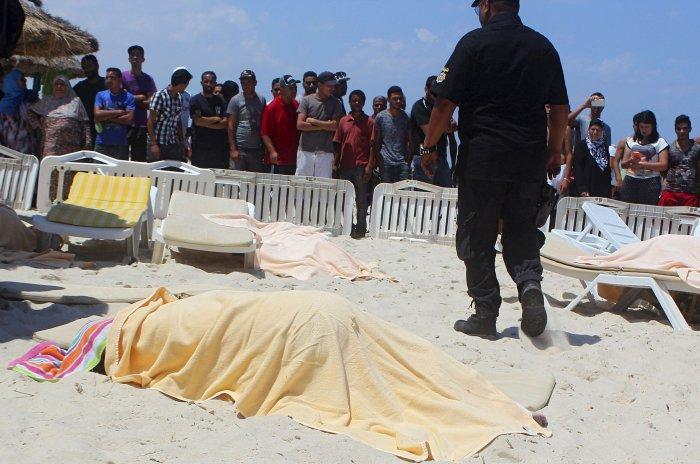 Horror on the sand in Tunisian hotel massacre