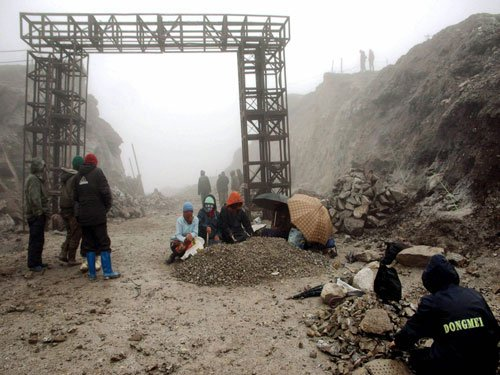 82 percent of roads along China border unfinished
