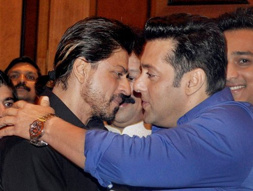 Salman and I have become friends; BO clash not for us: Shah Rukh
