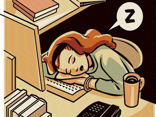Office naps boost productivity, kill frustration