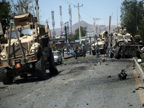 Suicide blasts hit Afghanistan as Taliban wage bloody fighting