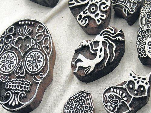 Carving designs & a livelihood