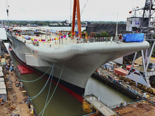 9 Indian shipyards shortlisted for next aircraft carrier