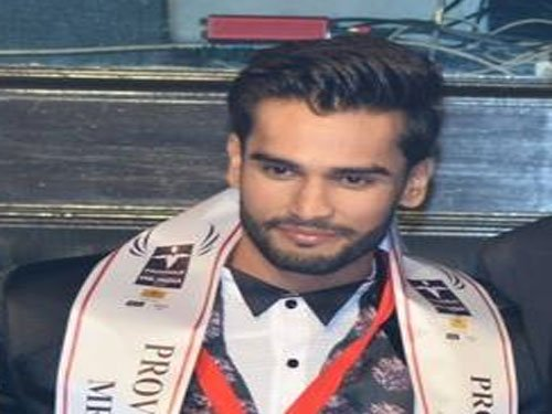 Rohit Khandelwal declared Mr India 2015