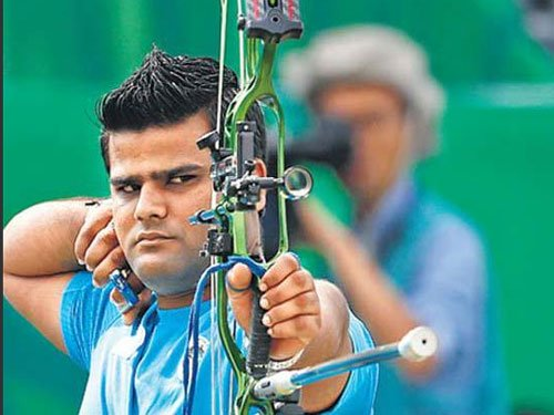 Chauhan bags historic silver in World Archery Championship