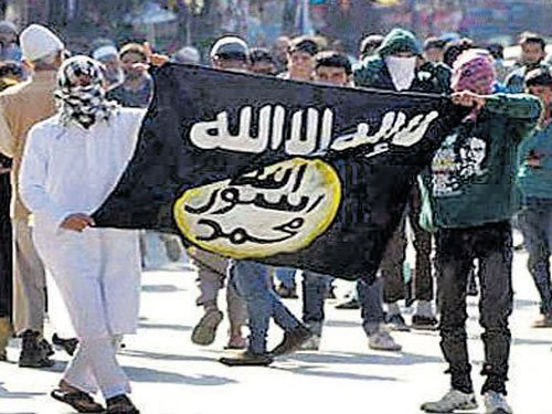 Teenagers wave IS flags for fun: J&K police chief