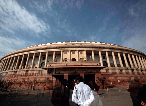 Blame Sonia if monsoon session washed out: BJP