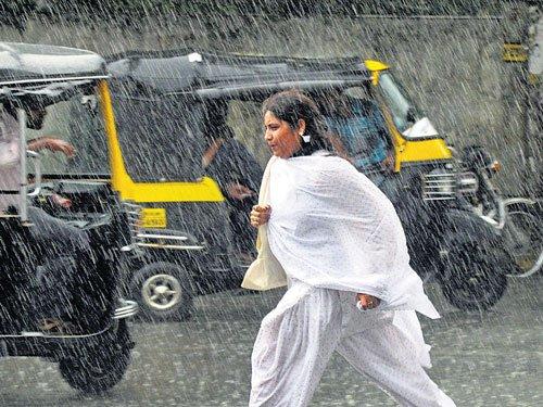 Scattered rains in Vijayapura