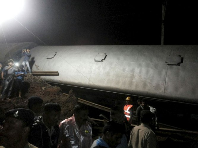 Washout of track led to derailment of two trains: Prabhu