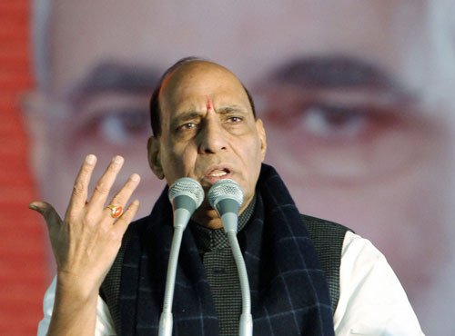 Two terrorists who attacked BSF convoy are Pakistanis: Rajnath