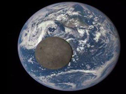 NASA satellite captures 'dark side' of Moon
