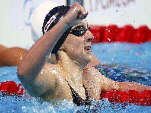 Phelps praises Ledecky