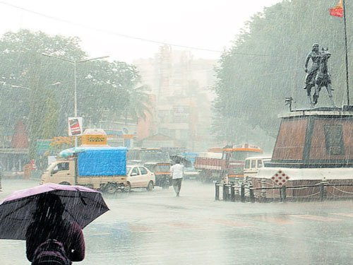Rain lashes Malnad region