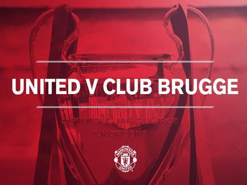 Man United drawn against Club Brugge in Champions League play-off