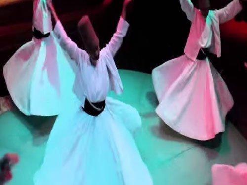 A Kashmir shrine where men whirl and dance