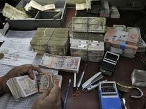 Shop raided, hawala cash confiscated