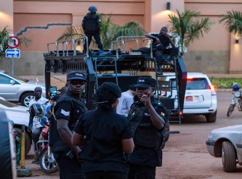 Official: 4 hostages freed from Mali hotel, 13 people dead