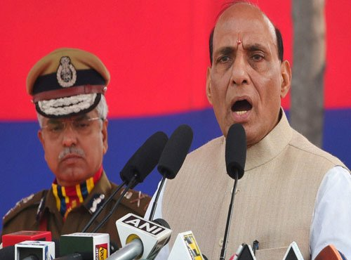 Rajnath reviews situation in J-K