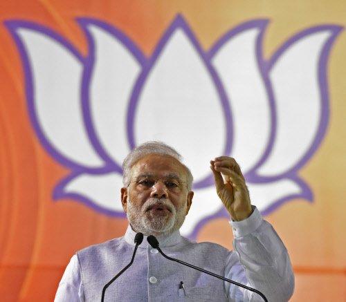 Modi invokes 'Jungle Raj', vows to remove Bihar's BIMARU tag