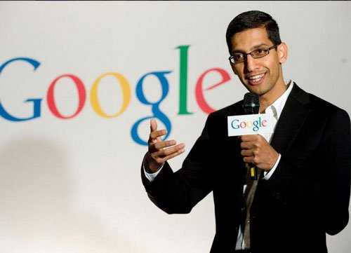 India-born Sundar Pichai named new CEO of restructured Google