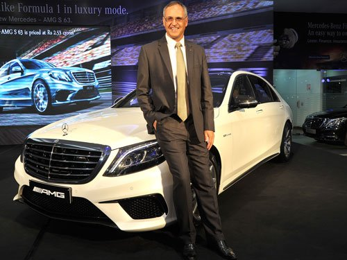 Mercedes-Benz launches AMG S63 at Rs 2.53 crore