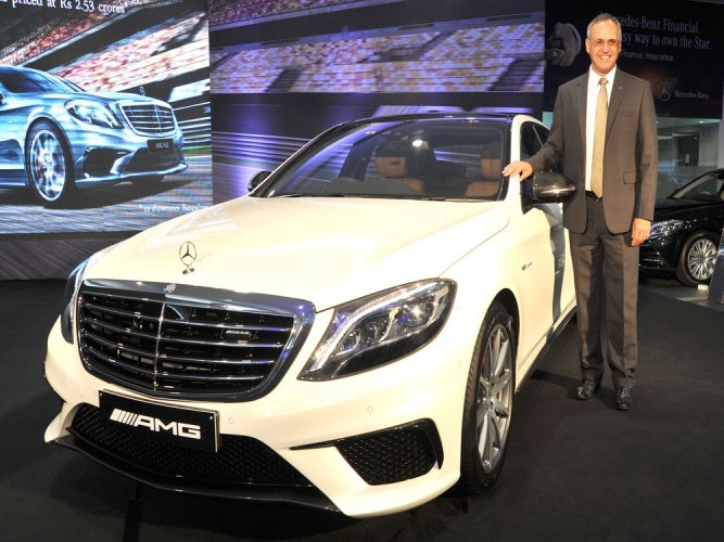 Mercedes-Benz powers India bouquet with new AMG S 63