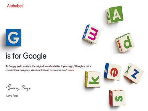 Google splits moonshot biz from its core search offering
