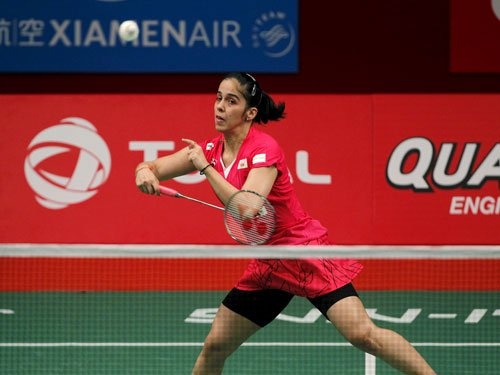 Saina warms up with easy win