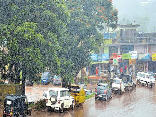 Monsoon picks up pace in Malnad, coastal dists