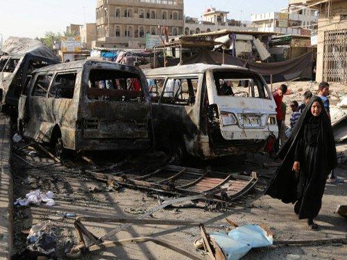 Huge truck bomb in Baghdad market kills 58