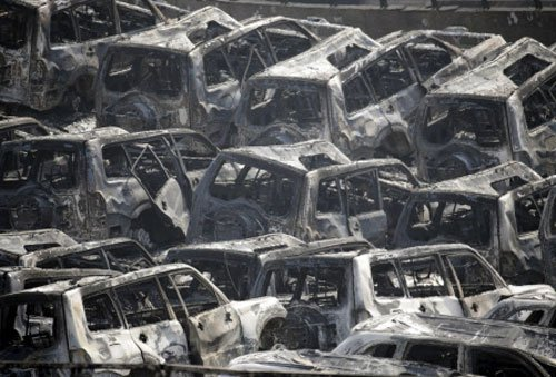1 rescued from blast site in China amid contamination fears