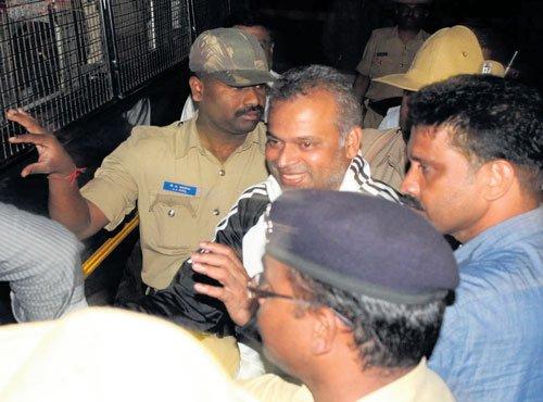 Bannanje Raja brought to State, in police custody till Aug 28