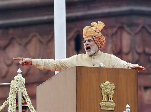 Modi vows to make a strong foundation  for the poor
