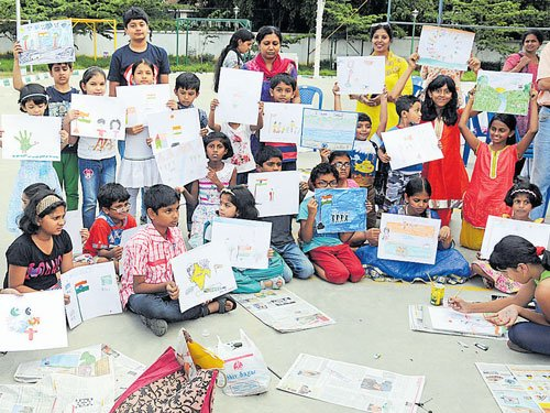 At Deccan Herald competition, a glimpse of child prodigy painters