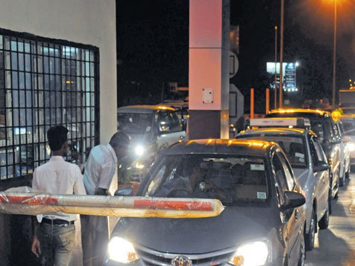 Plans on to network entry toll gates