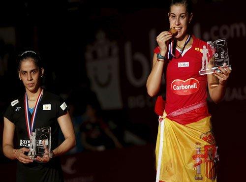 Kumble, Jwala congratulate Saina for Worlds silver