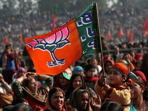 BJP releases manifesto, promises realistic budget