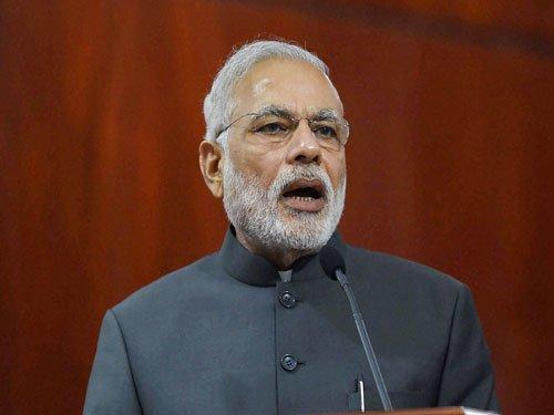 Modi thanks UAE for allotting plot for temple