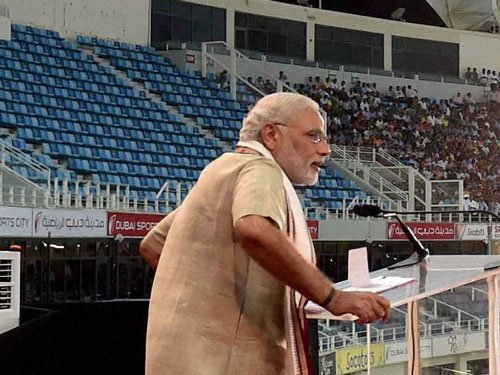 Modi sends out strong message against terror