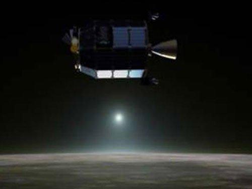 NASA spacecraft finds neon gas in Moon's atmosphere