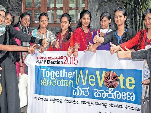 Palike's student awareness campaign a success