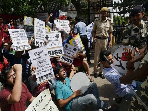 Midnight swoop: Five agitating FTII students arrested