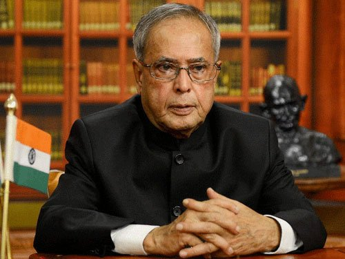 Within hours of wife's cremation, President back at work