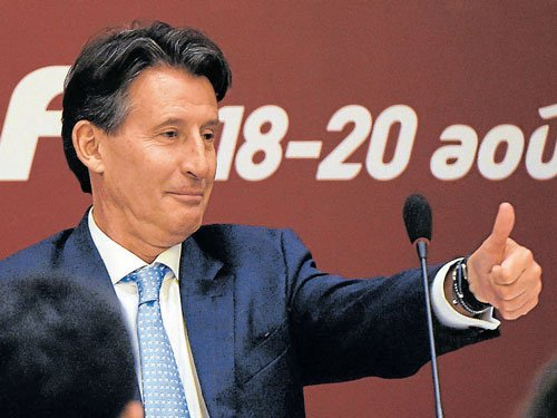 Coe elected IAAF chief, promises to clean sport