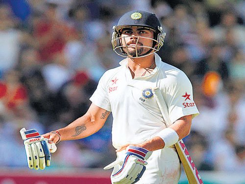 Kohli sees no point in brooding over past