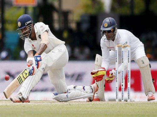 Rahul steadies India innings after Kohli dismissal